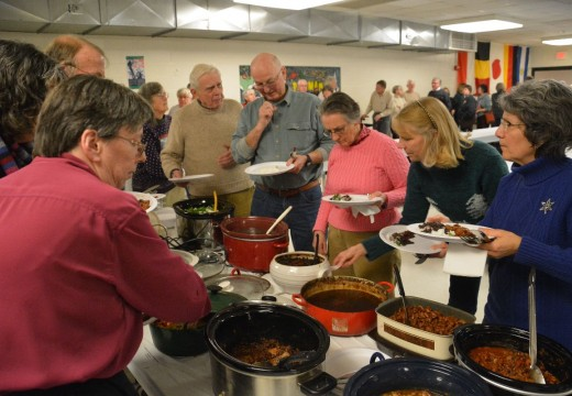 It's all about those beans at annual supper