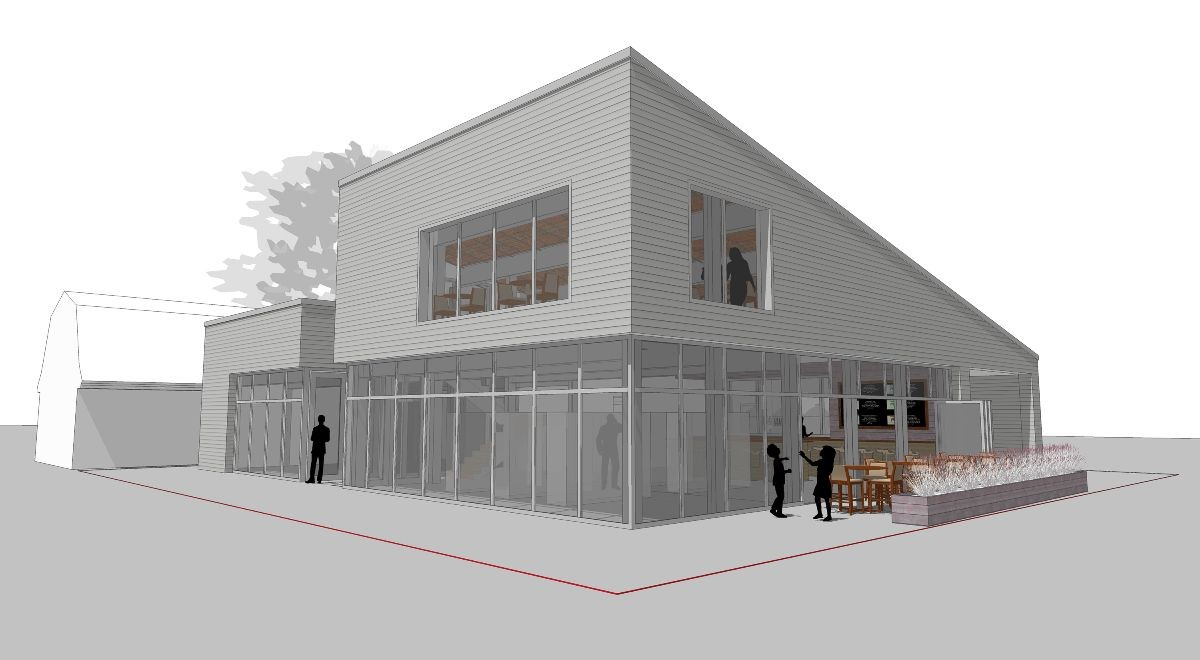 Plans For A New Building At 52 Cottage St The Current Little Notch Bakery Include An Atlantic Brewing Company Taproom And A Small Brewing Facility