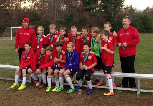 Acadia Fire sparks soccer fun, fitness