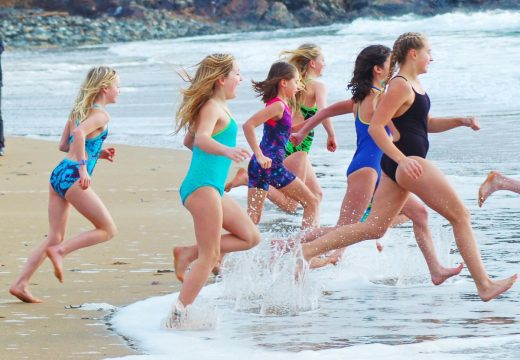 Polar Plunge swimmers discuss why they brave the cold