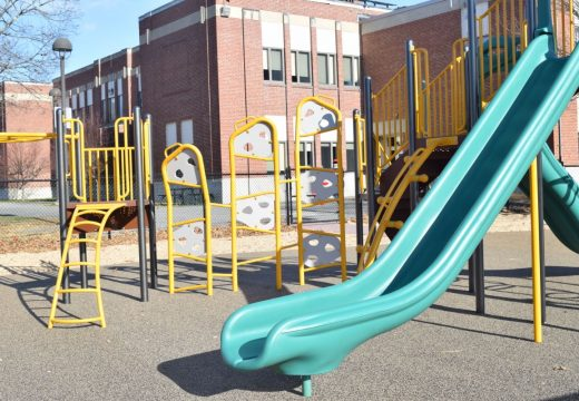 New playground is complete, and paid for