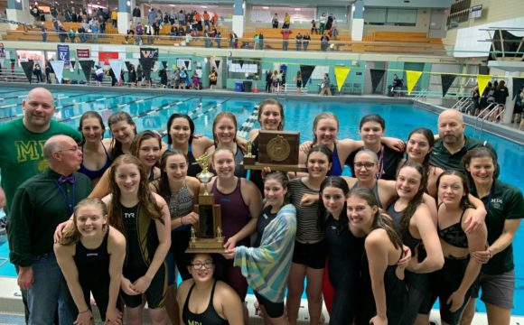 Class B Champions: MDI swimmers secure top spot at state meet