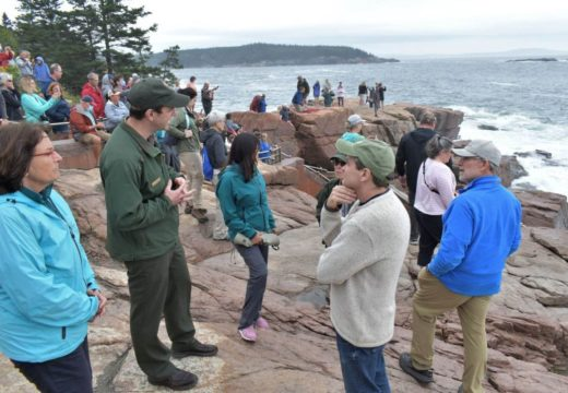 Congressional officials visit Acadia to talk about climate change